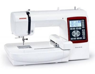 Janome MC230E embroidery